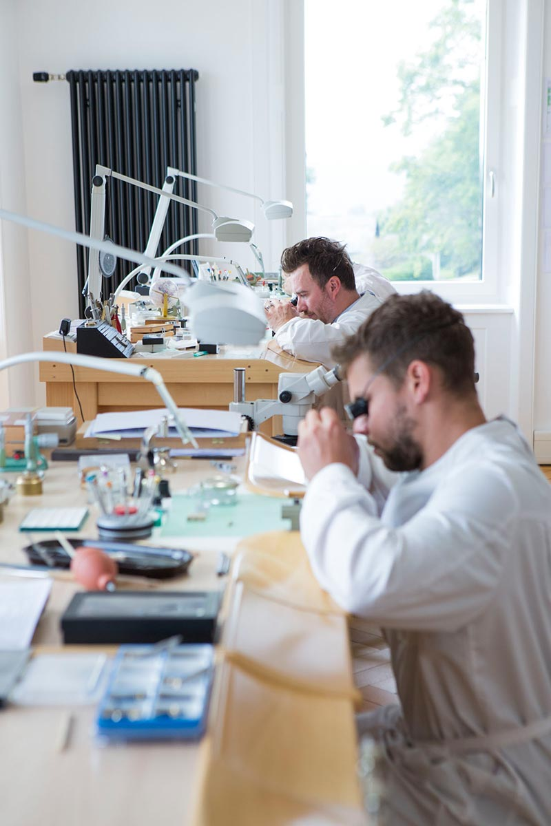 Picture of the Alchemists watchmakers in Villa Jolimont